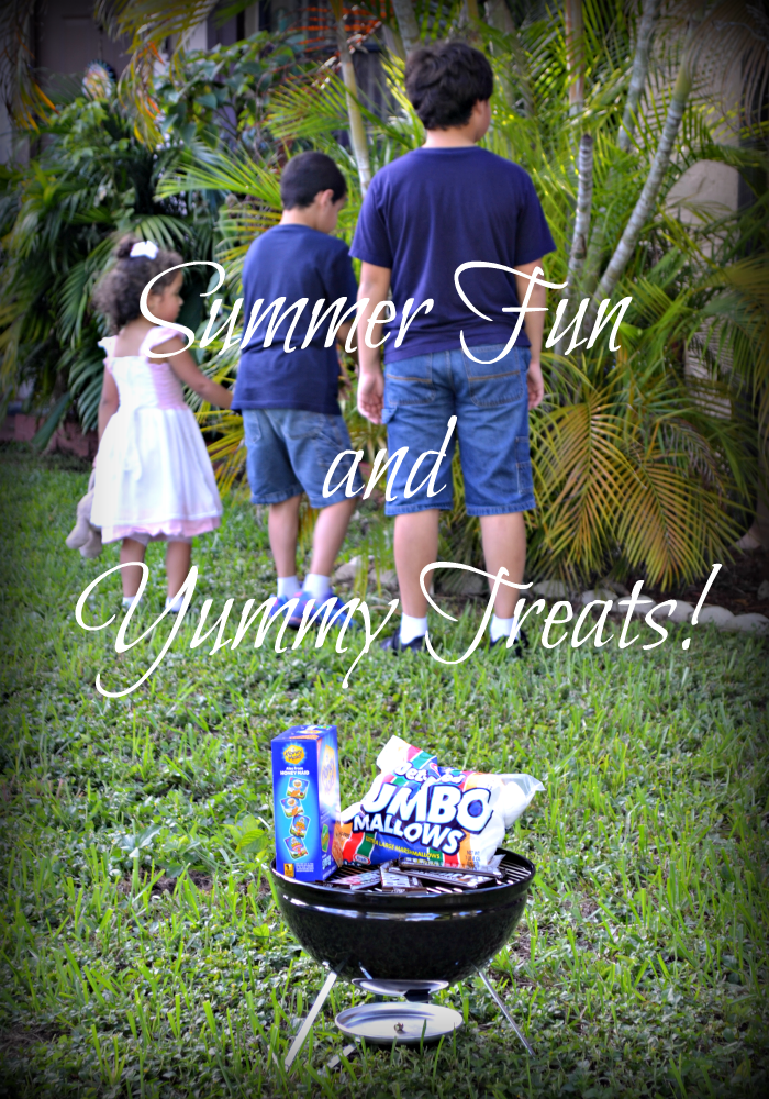 Summer Fun Ideas and a Yummy Treat!