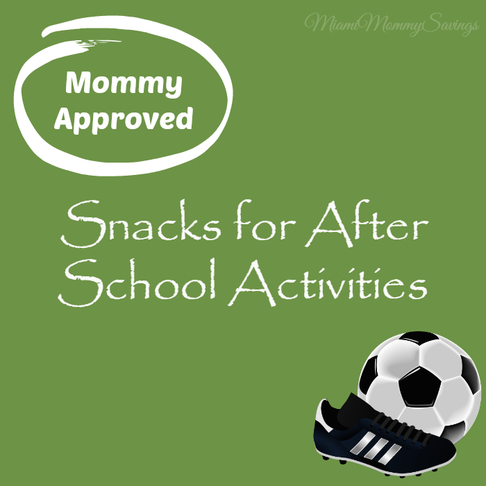 Mommy Approved Snacks for After School Activities
