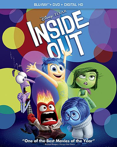 Inside Out Blu-Ray DVD cover