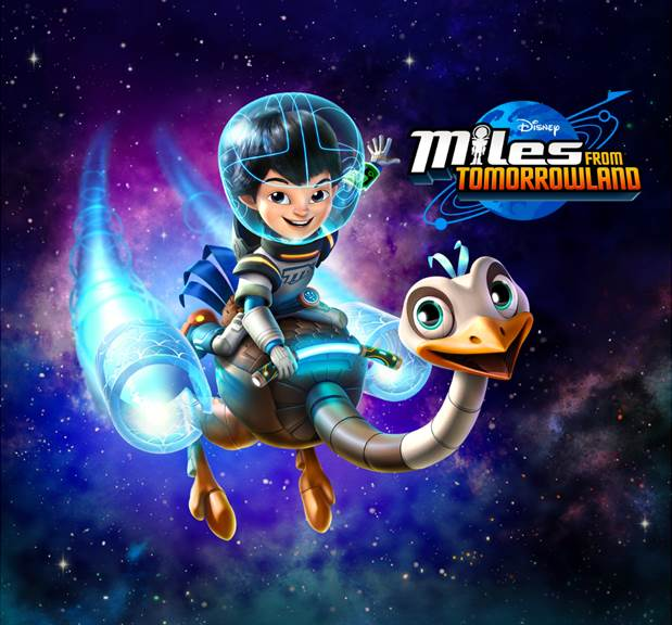 Miles from Tomorrowland Adventure at Google Headquarters!