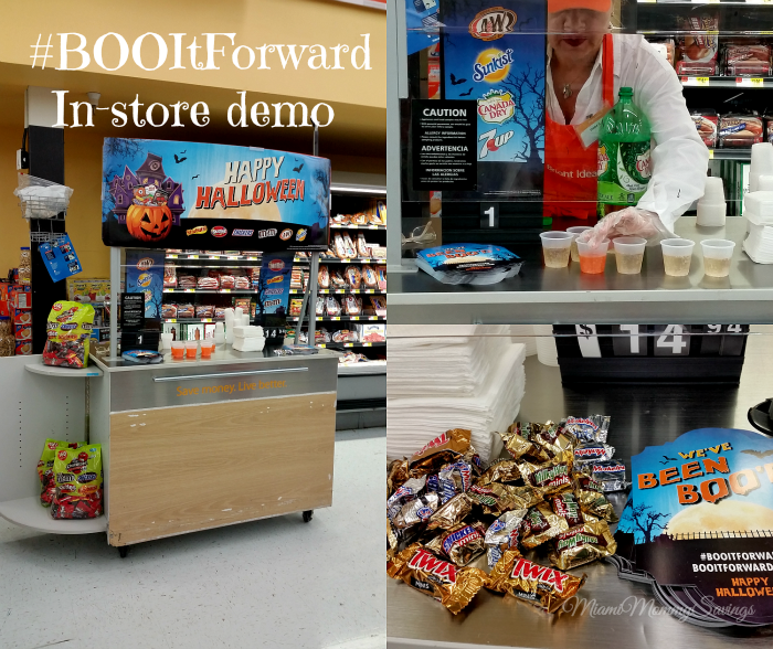 #BOOItForward In-Store Demo, more at MiamiMommySavings.com