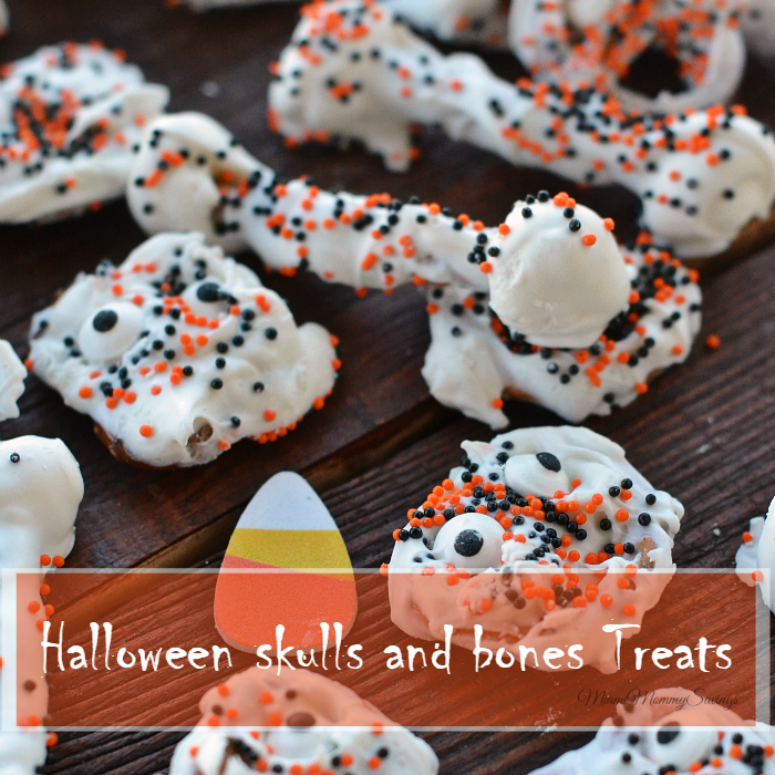 Halloween Skulls and Bones Treats