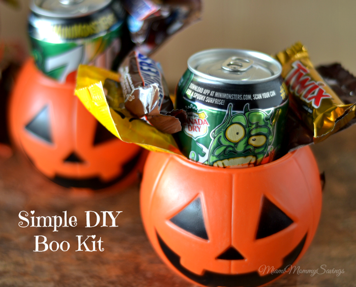 Simple DIY Boo Kit + Yummy Brownies in a Jar, more at MiamiMommySavings