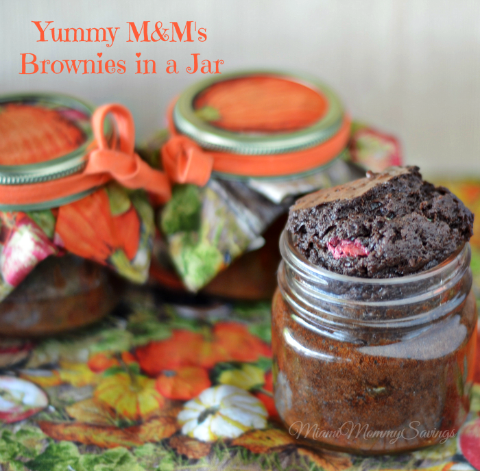 Yummy-M&M's-Brownies-in-a Jar-Miami-Mommy-Savings