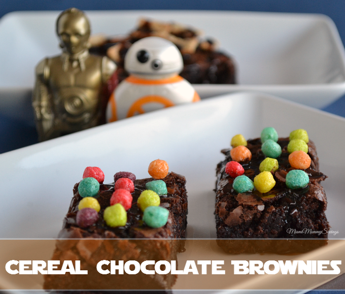 Cereal Chocolate Brownies
