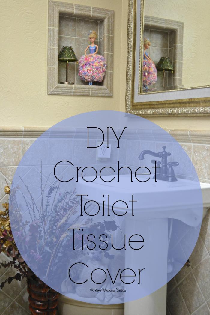 DIY Crochet Toilet Tissue Cover, More at MiamiMommySavings.com