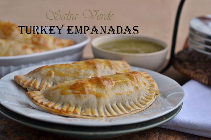 Salsa Verde Turkey Empanadas