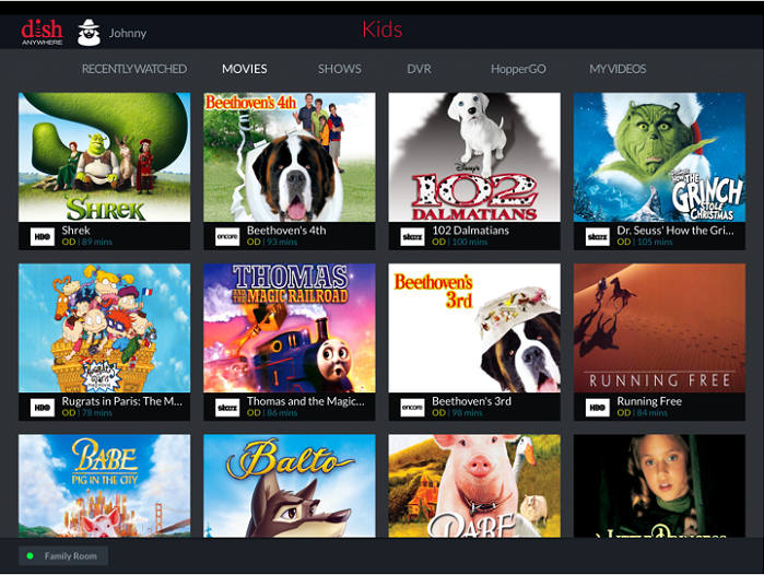 DISH Anywhere introduces Kids' Profiles