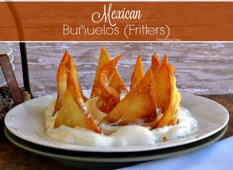 Mexican Buñuelos or Fritters, more at MiamiMommySavings.com