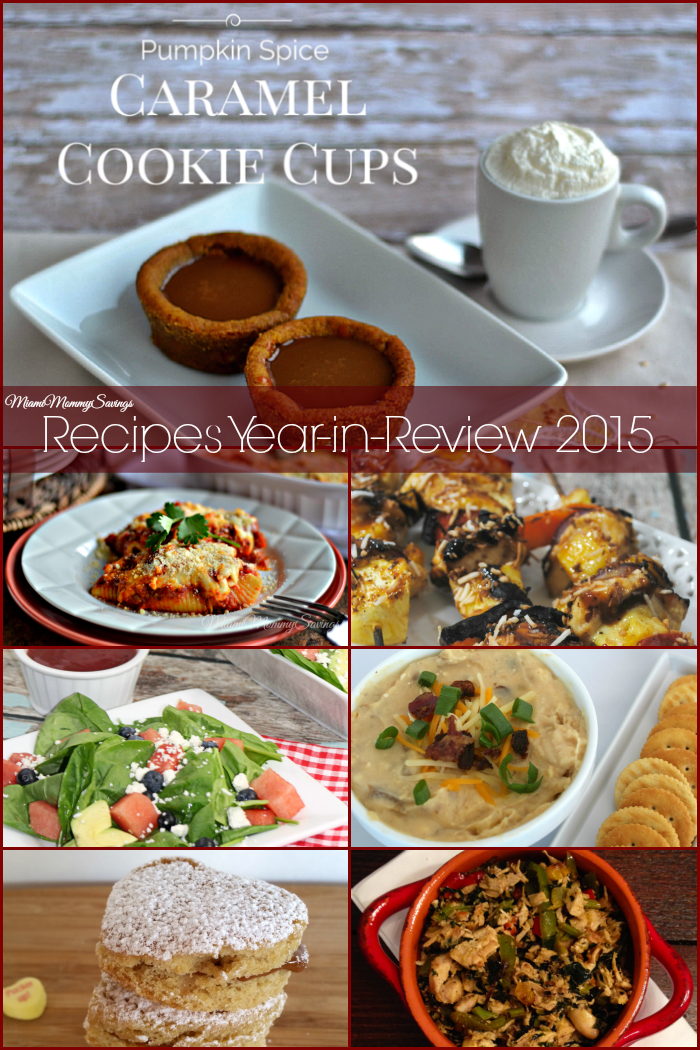 MiamiMommySavings.com Recipes Year-In-Review 2015