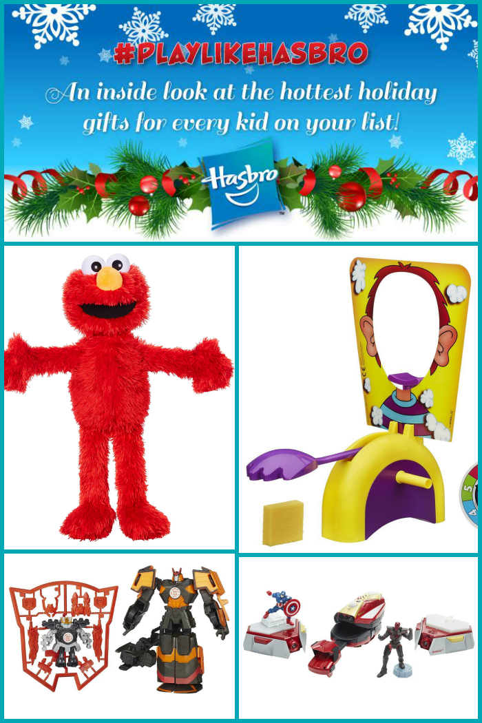 #PlayLikeHasbro Holiday Gift Guide 2015