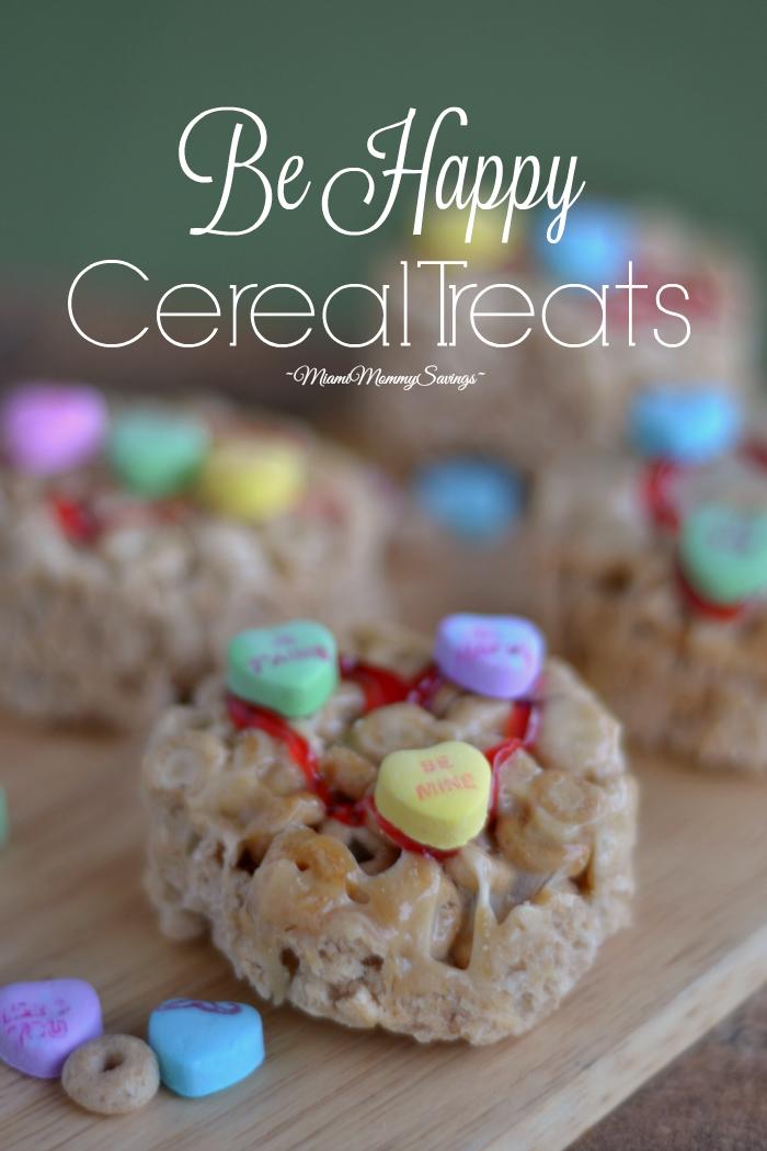 Be Happy Cereal Treats, more at MiamiMommySavings.com
