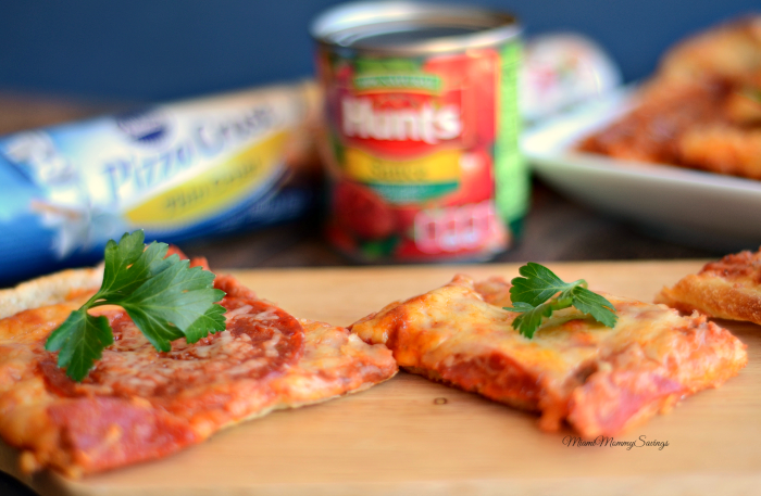 Easy Pepperoni Pizza Recipe, Get the recipe at MiamiMommySavings.com