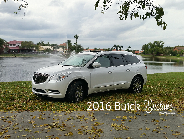 2016 Buick Enclave: Modern Luxurious Mid-Size SUV.