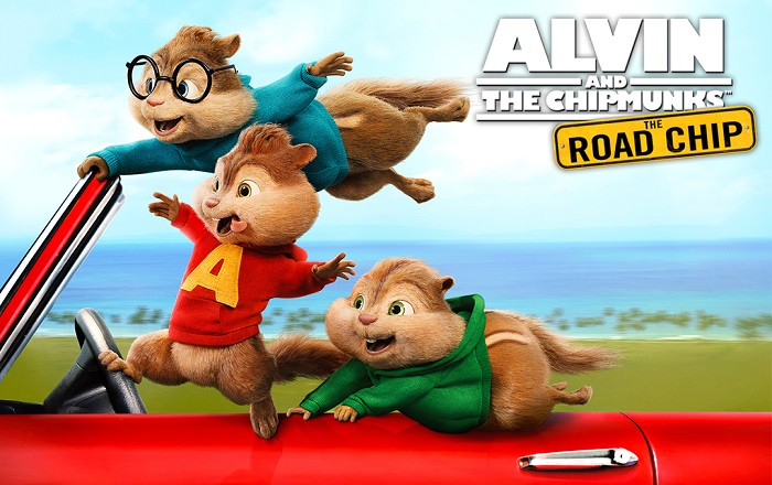Alvin and The Chipmunks: The Road Chip Movie Giveaway!