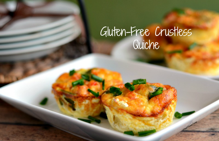Delicious and Gluten-Free Crustless Quiche Recipe. Find out more at MiamiMommySavings.com