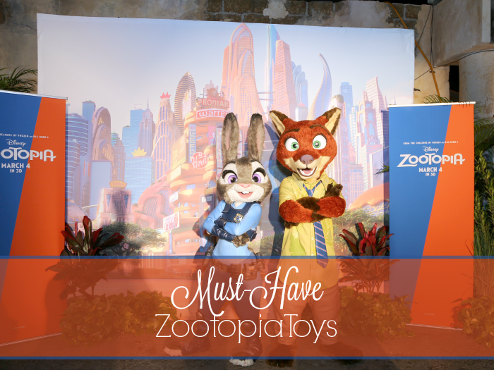 Must-Have Zootopia Toys