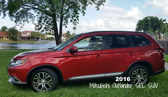 Looking for an economical compact SUV? Check out the 2016 Mitsubishi Outlander SEL SUV. Learn more at MiamiMommySavings.com