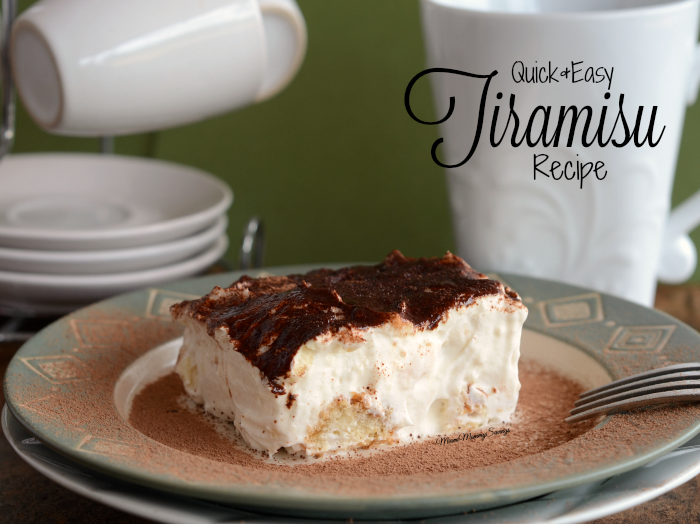 Quick and Easy Tiramisu Recipe