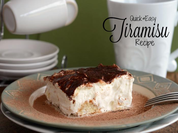Check out this Quick and Easy Tiramisu Recipe. Full recipe at MiamiMommySavings.com