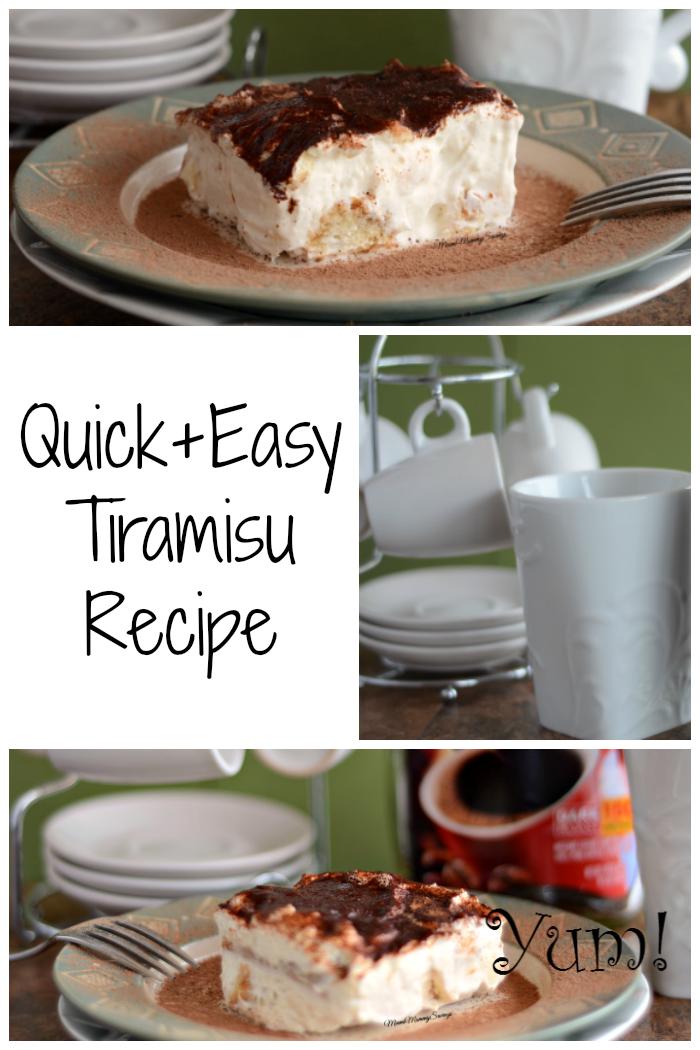 Quick and Easy Tiramisu Recipe