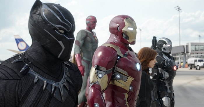 Marvel's Captain America: Civil War Movie Review. More at MiamiMommySavings.com