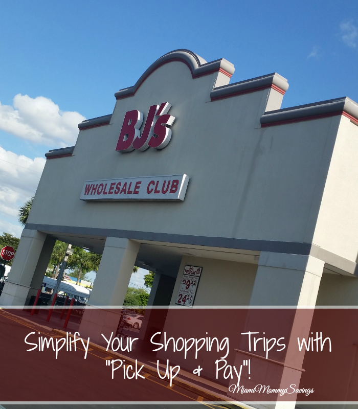 "Simplify Your Shopping Trips with ""Pick Up & Pay""!"