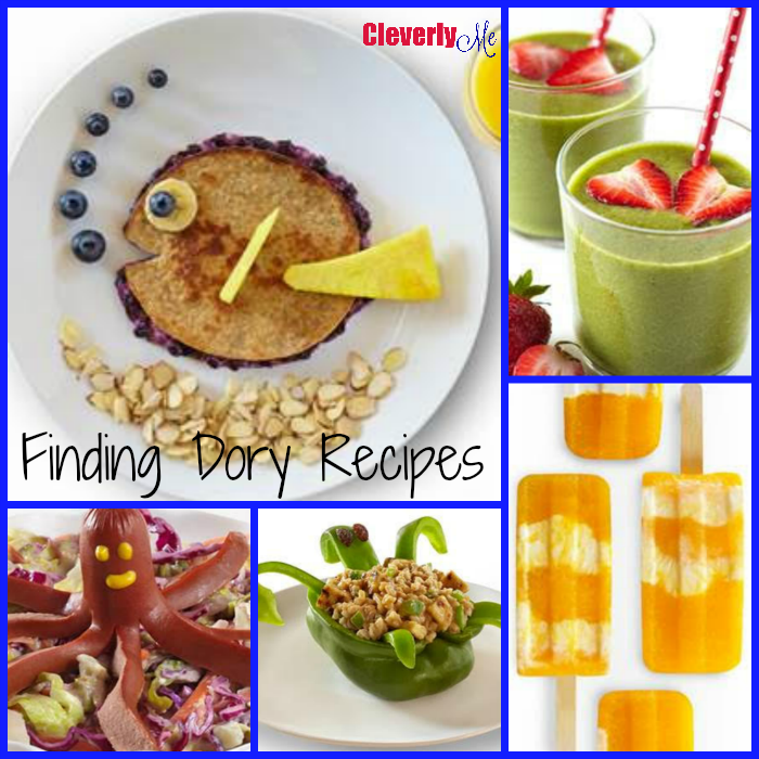 Finding Dory Recipes