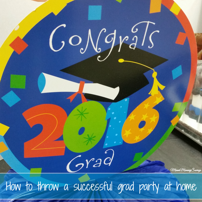 How to Throw a Successful Grad Party at Home + Giveaway