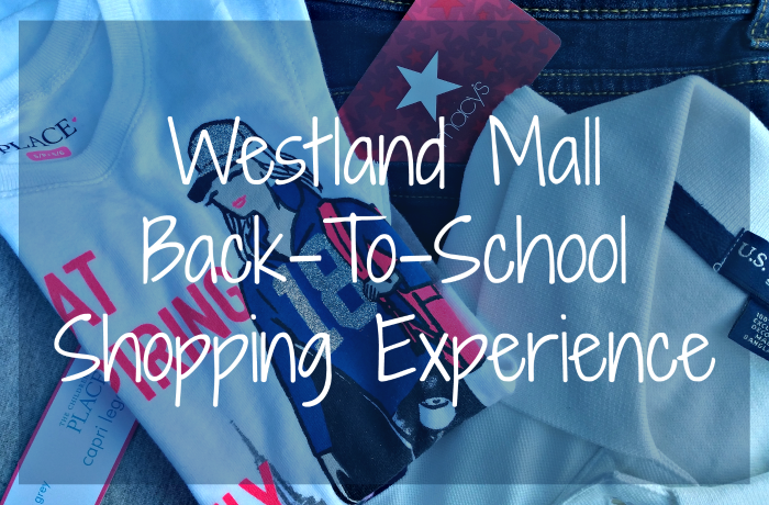 Westland Mall Back-To-School Shopping Experience + Giveaway