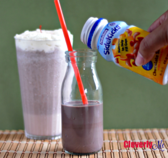 Easy and Delicious Milkshake Recipe. More at CleverlyMe.com