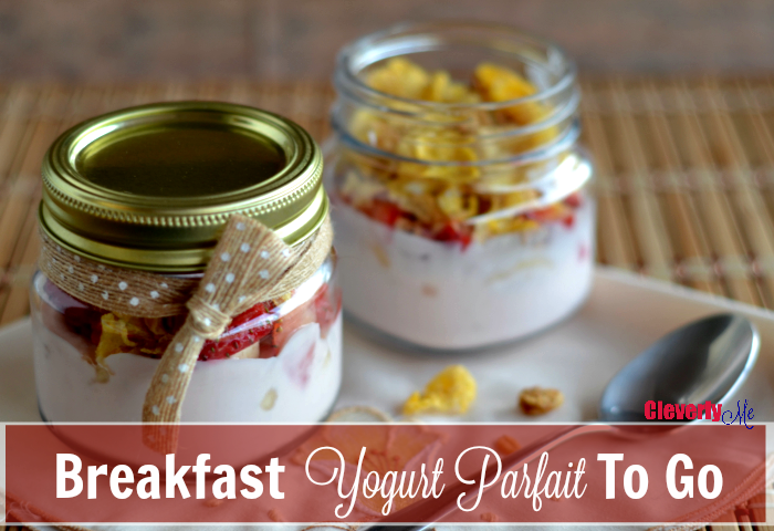 Breakfast Yogurt Parfait To Go