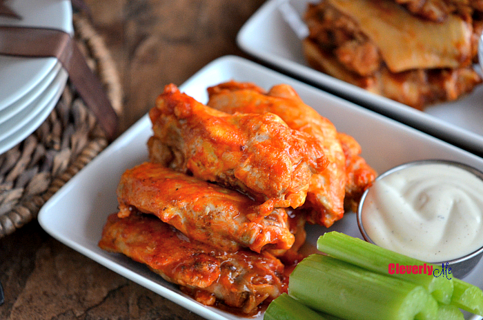 Easy Tailgate Party Buffalo Wings Recipe