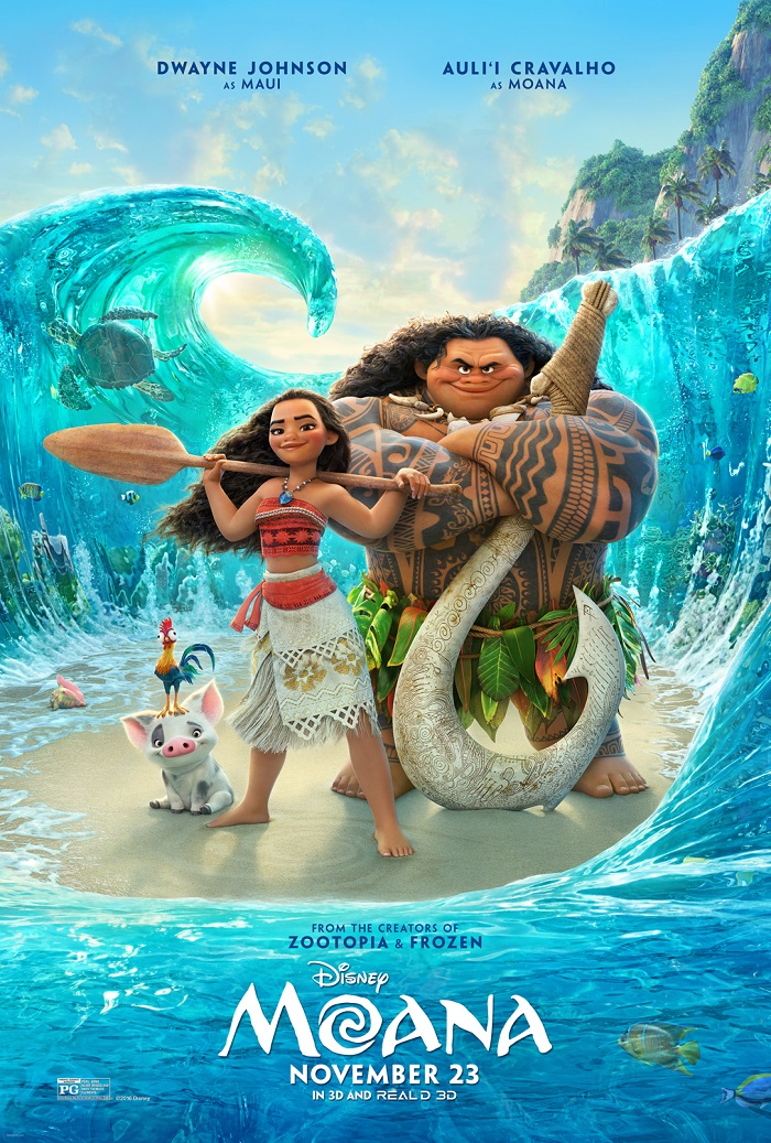 Disney's Moana is in Theaters Everywhere