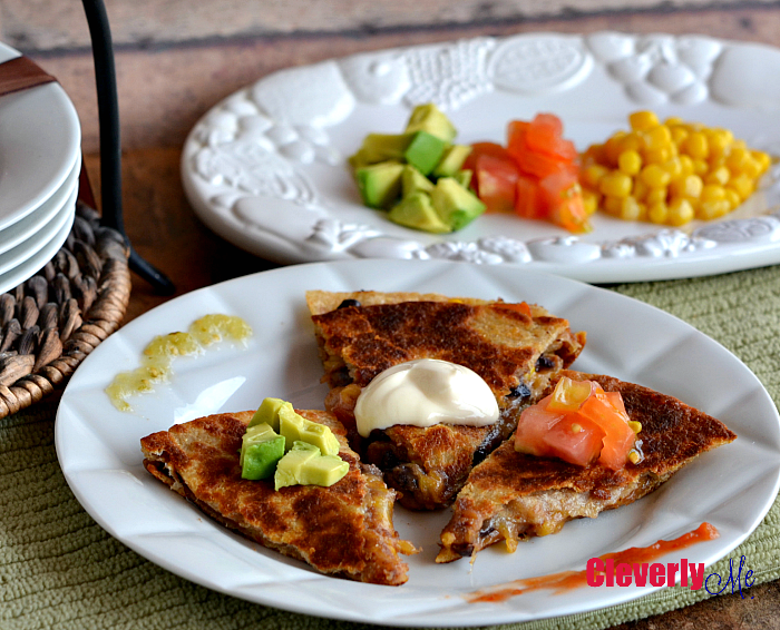 Black Bean Quesadillas Recipe