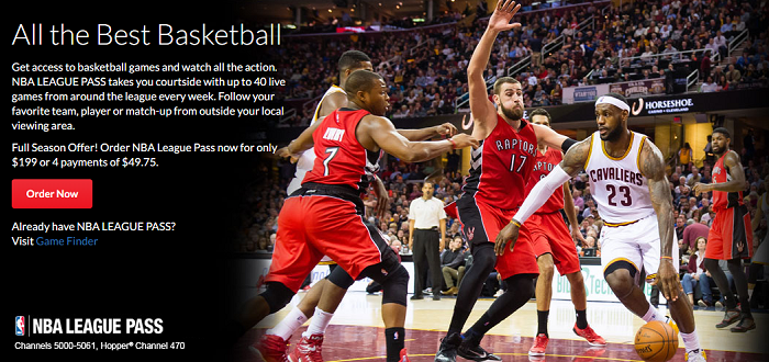 Dish Offers NBA League Pass
