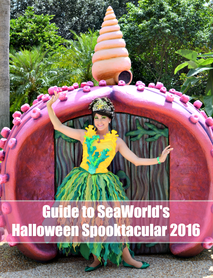 Guide to SeaWorld's Halloween Spooktacular 2016