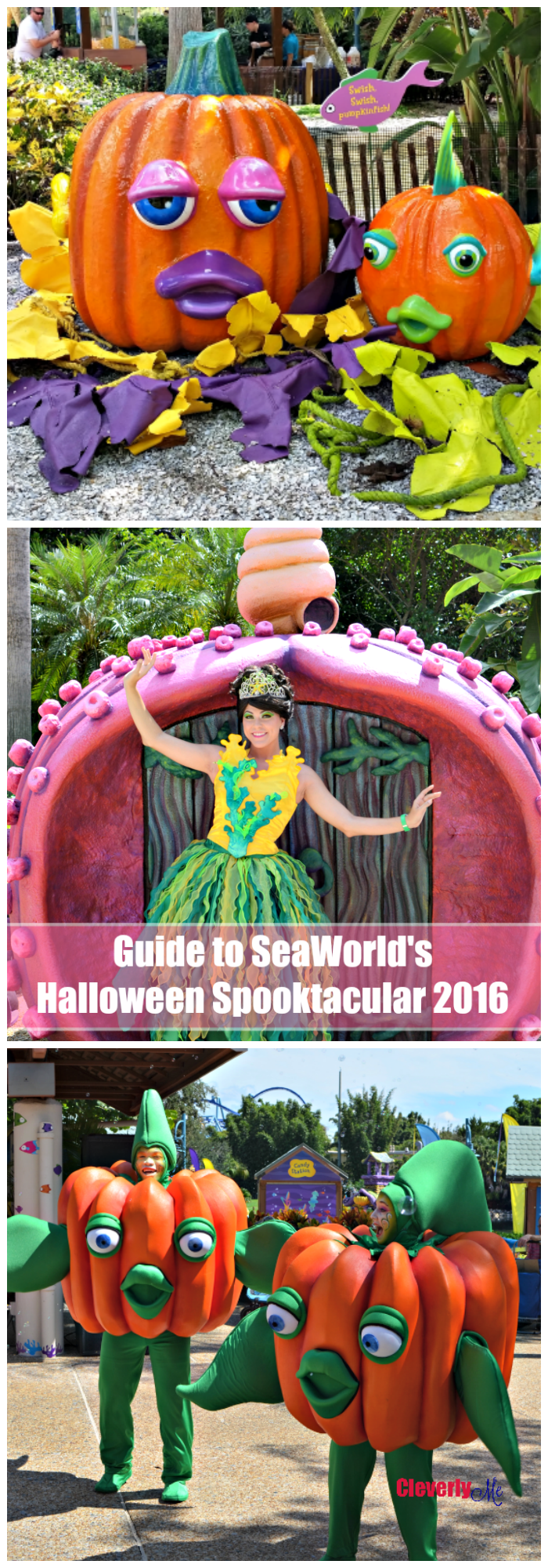 Guide to SeaWorld's Halloween Spooktacular 2016 . More at CleverlyMe.com