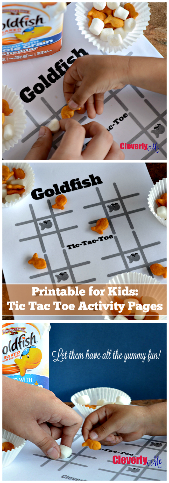 Tic tac toe is a paper-and-pencil game for two players, get your kids to have fun with this Printable for Kids: Tic Tac Toe Activity Pages with a delicious twist. Print it at CleverlyMe.com