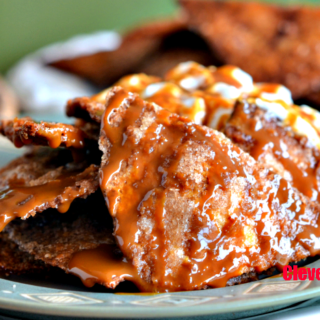 Easy Baked Churro Chips