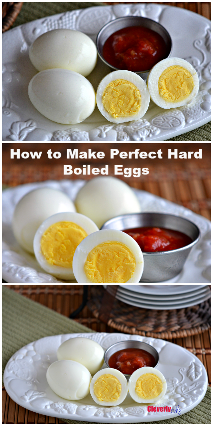 Put your Instant Pot to work and make the perfect Instant Pot Hard Boiled Eggs. More at CleverlyMe.com
