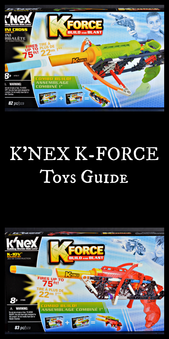K'NEX K-FORCE Toys Gift Guide. Find out more at CleverlyMe.com