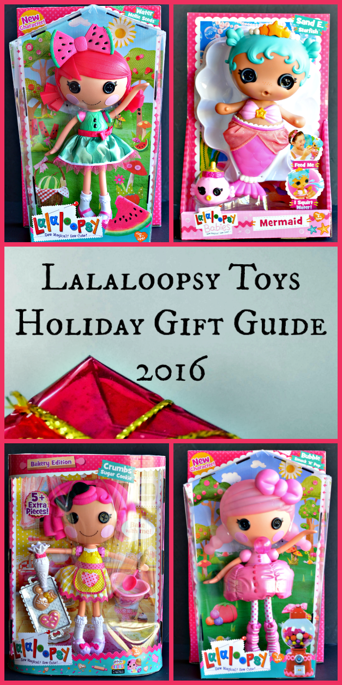 Make your little girl's dreams come through with our Lalaloopsy Toys Holiday Gift Guide 2016. More at CleverlyMe.com