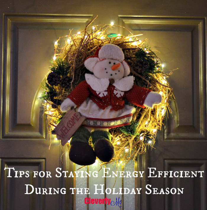 Tips for Staying Energy Efficient During the Holiday Season