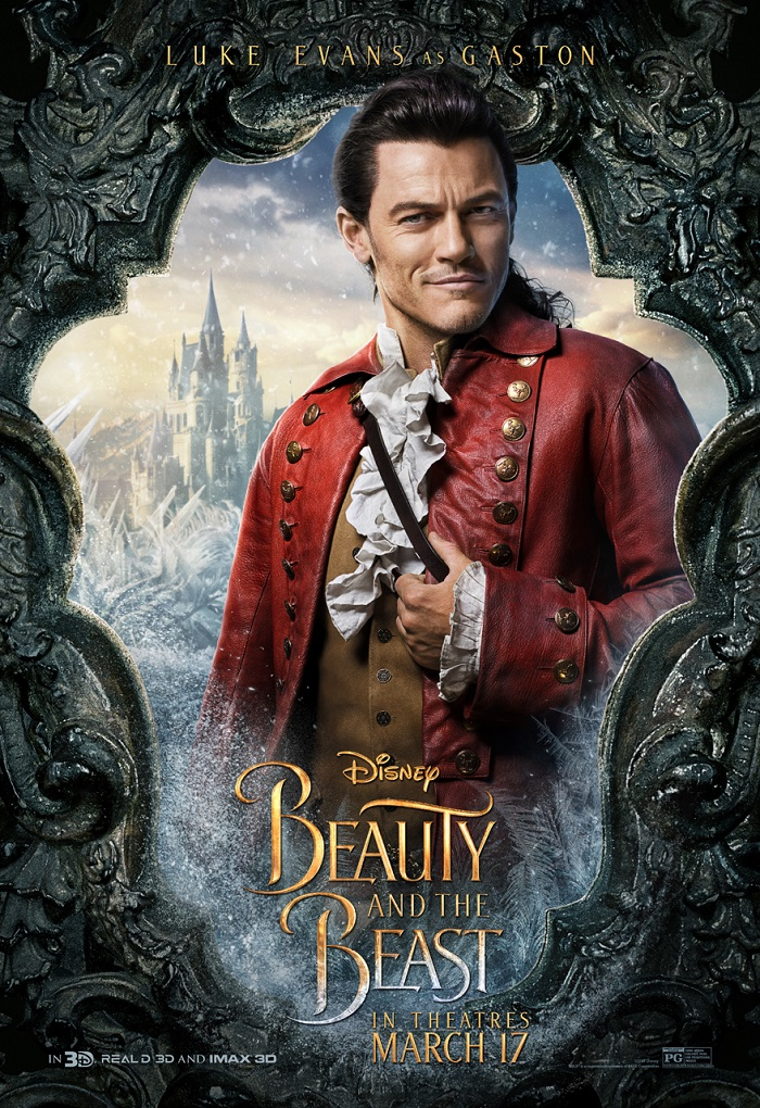 "Check out the new Beauty and the Beast ""Gaston"" Film Clip"