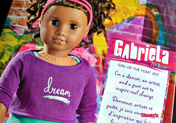 Meet Gabriela McBride, American Girl's 2017 Girl of the Year! More at CleverlyMe.com