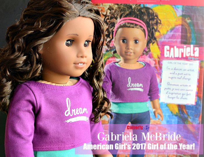 Gabriela McBride, American Girl's 2017 Girl of the Year! + Giveaway