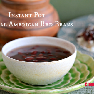 Instant Pot Central American Red Beans