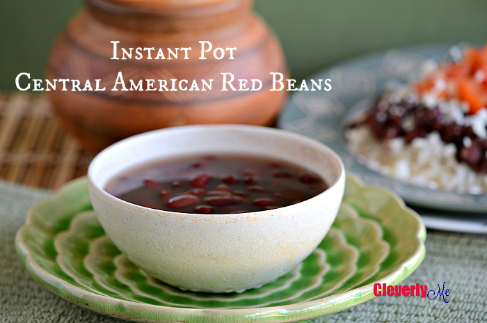 Instant pot central american red beans cleverly me south florida cook your red beans in no time with this instant pot central american red beans recipe forumfinder Images