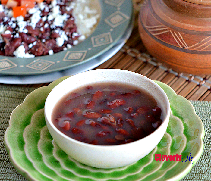 Cook your red beans in no time with this Instant Pot Central American Red Beans recipe. Find the recipe at CleverlyMe.com